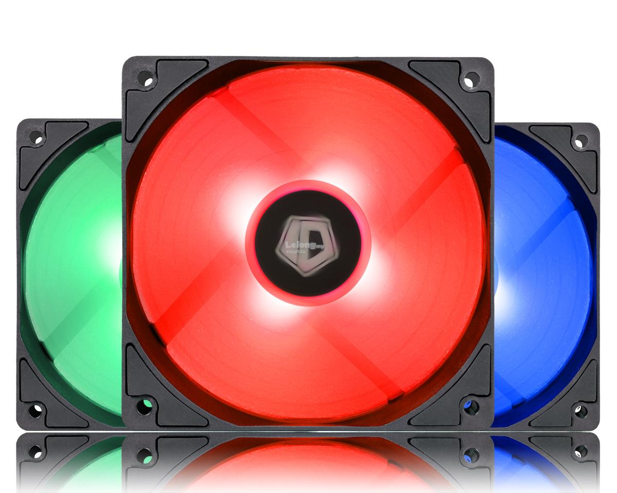 ID-COOLING XF-12025 120MM RGB TRIO CHASSIS FAN
