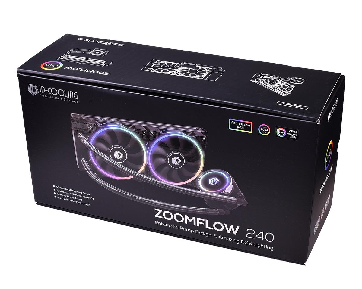 ID COOLING ZOOMFLOW 240 RGB LIQUID CPU COOLER