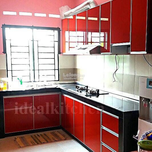Kitchen Cabinet Selangor Kitchen Cabinet In Rawang: Ideal Aluminium Kitchen Cabinet (Pro (end 9/4/2019 11:12 AM