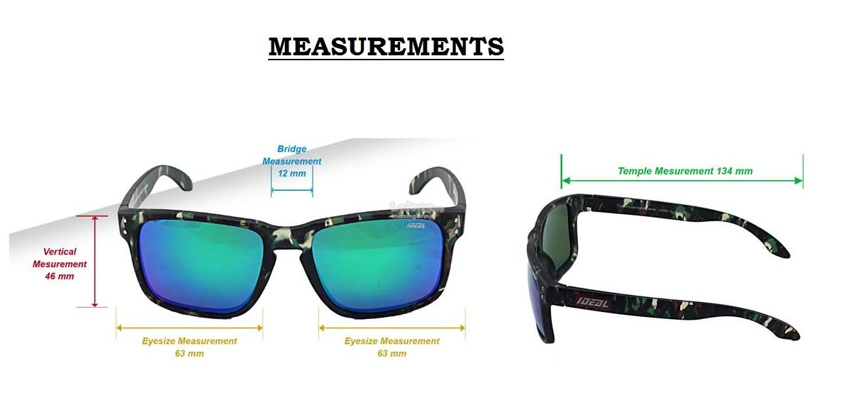 86114659fee IDEAL - TAC Polarized Sunglasses in NEW AGE Camo Style - Model 8969