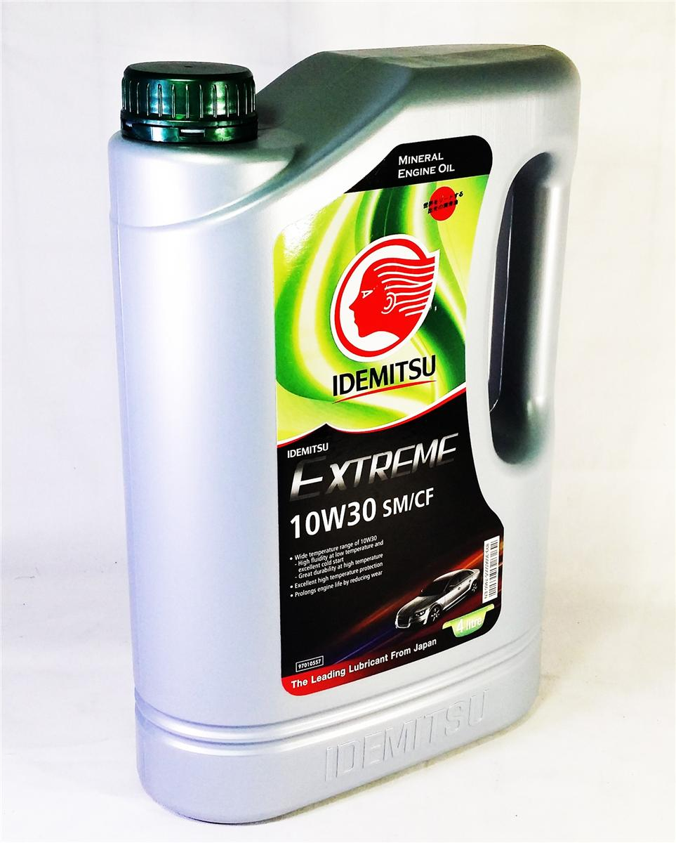 IDEMITSU ECO 10W30 MINERAL ENGINE OIL 4L