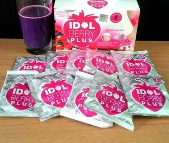 IDOL BERRY PLUS Drink Juice To Lose Weight Low Fat - Thailand