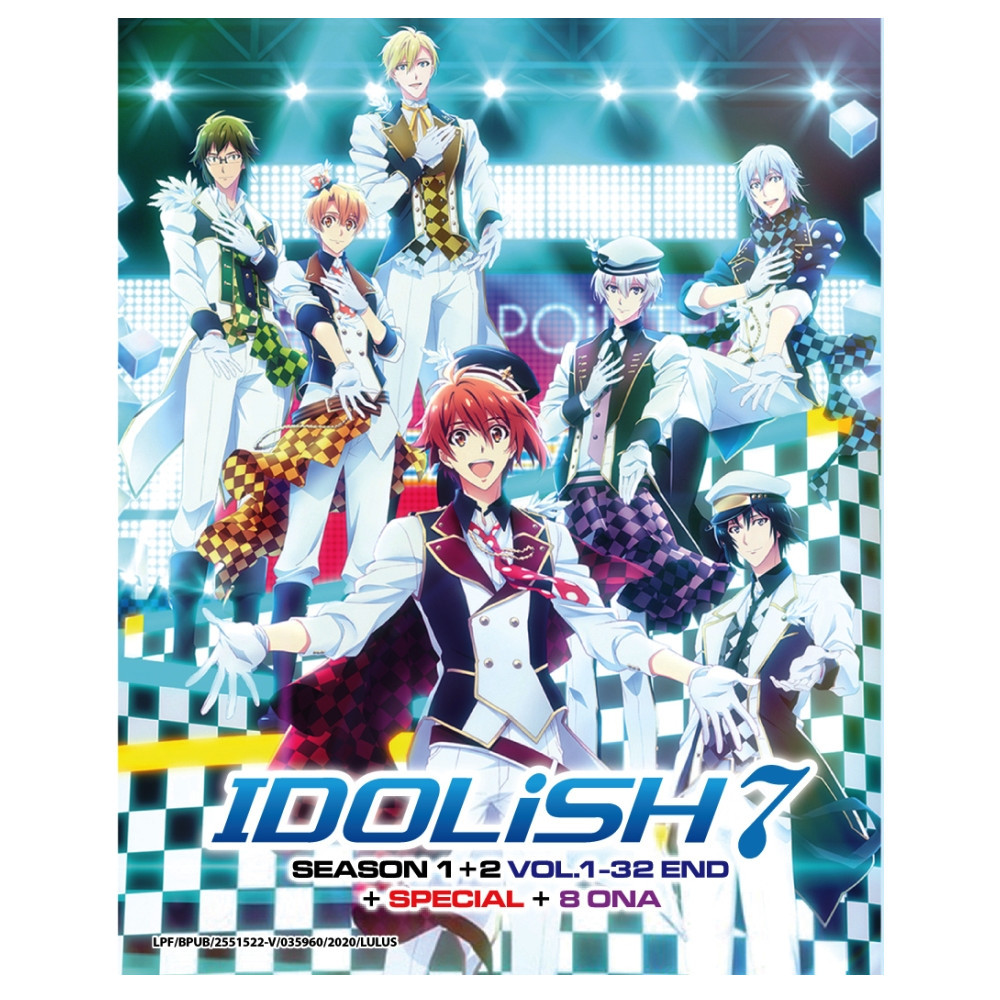 IDOLiSH7 Season 1-2 + Special + 8 ONA Japanese Anime DVD