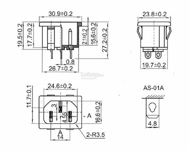 iec320 c14 inlet power plug socket a end 1 1 2020 10 15 am. Black Bedroom Furniture Sets. Home Design Ideas