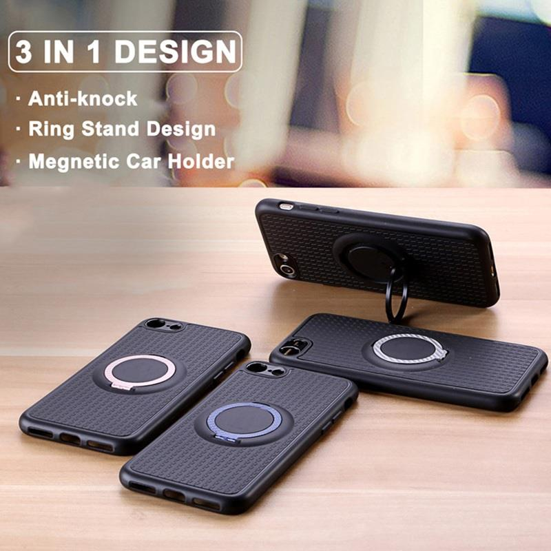 online retailer 9d9be dfcb0 iFace iPhone XS Max 6.5' Magnetic Ring Car Holder Case Cover