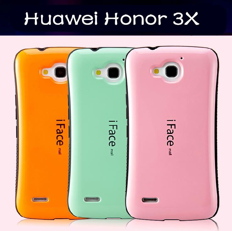 iface mall Huawei Honor 3X G750 ShakeProof Back Case Cover