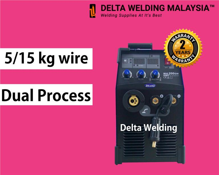 IGBT 200 MIG Sportscar Machine welding Malaysia - 2 years warranty
