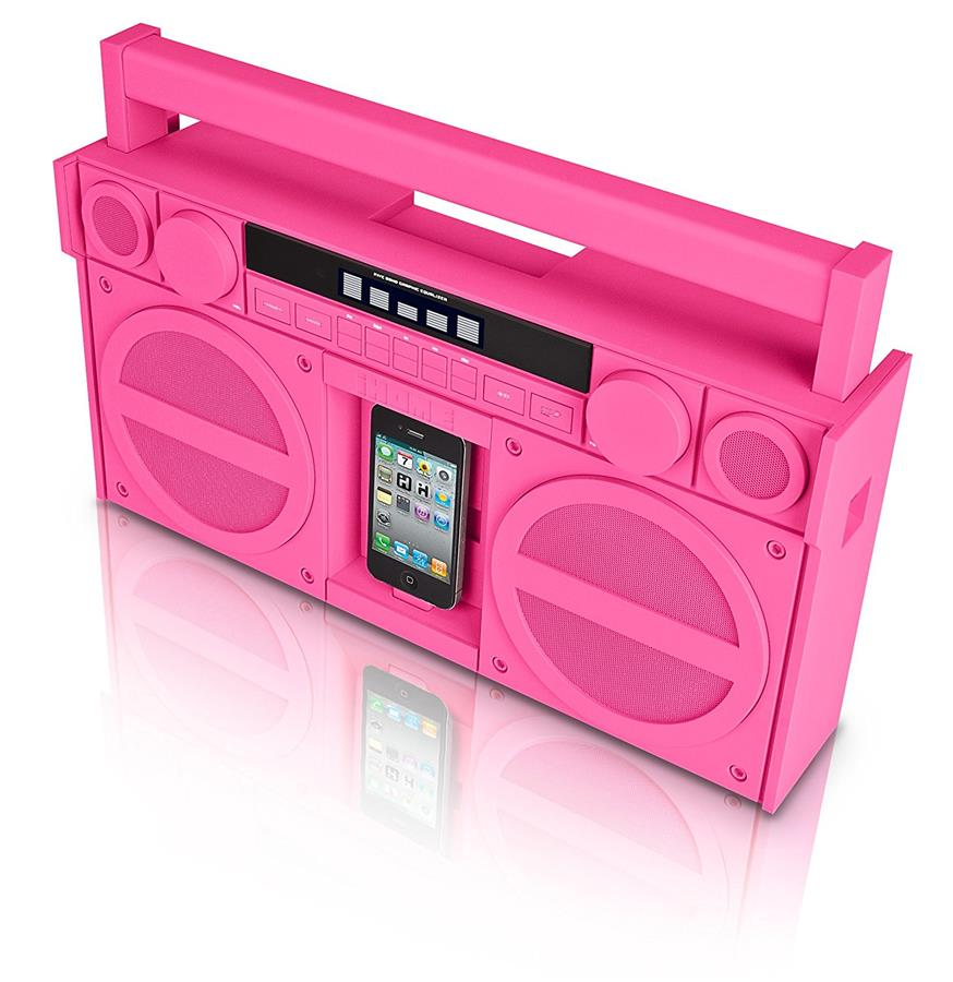 iHome iP4PZ FM 30-Pin iPod/iPhone Speaker Dock Boombox