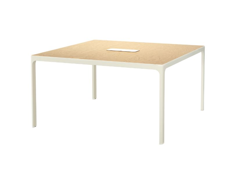 IKEA BEKANT Conference Table Birch V End PM - Ikea white conference table