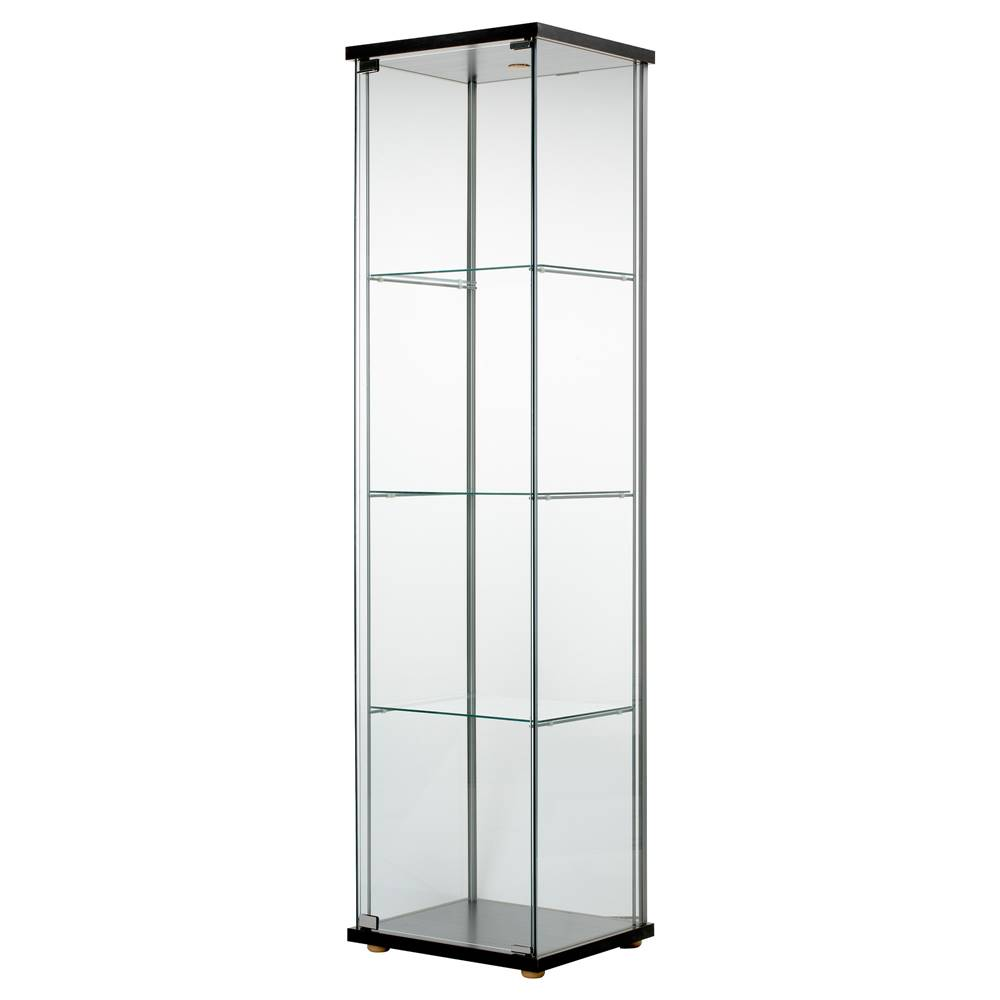 Ikea Detolf Glass Door Cabinet Bla End 10222020 1157 Pm