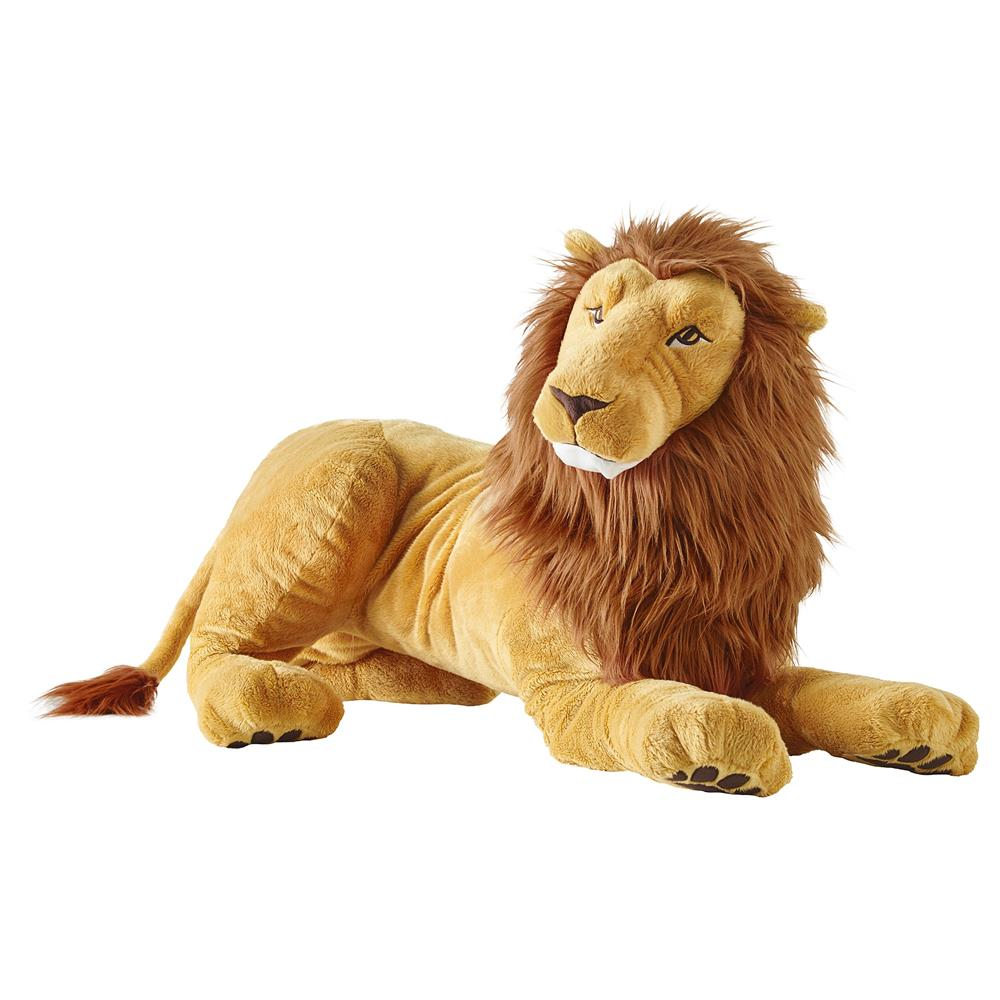 Ikea Djungelskog 70cm Lion Sort Toy King Of Animals And Is A Powerful