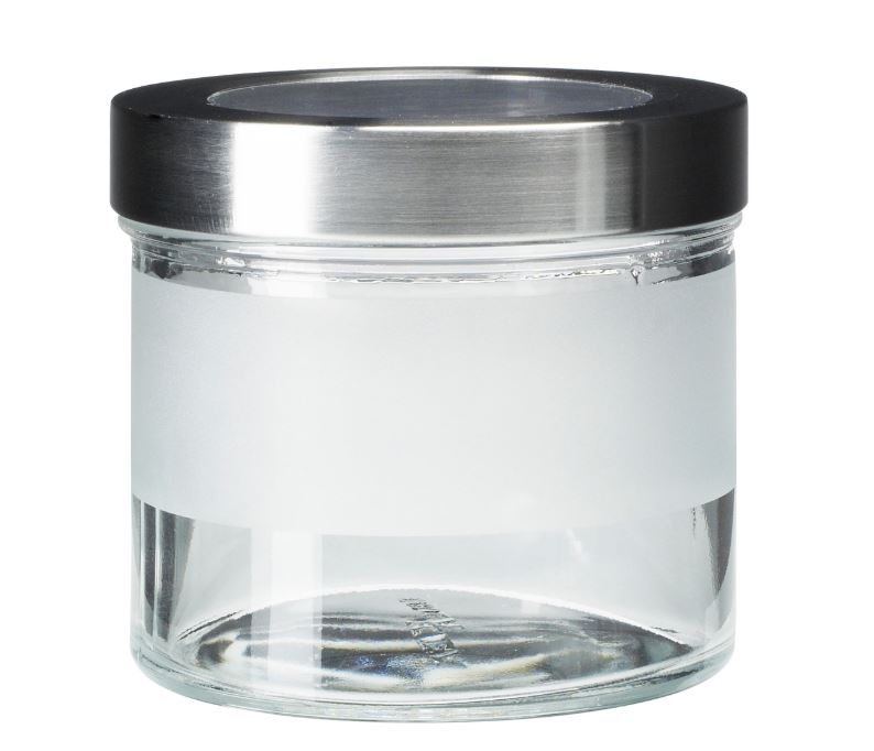 ikea droppar jar with lid frosted g end 11 13 2020 1 27 am. Black Bedroom Furniture Sets. Home Design Ideas