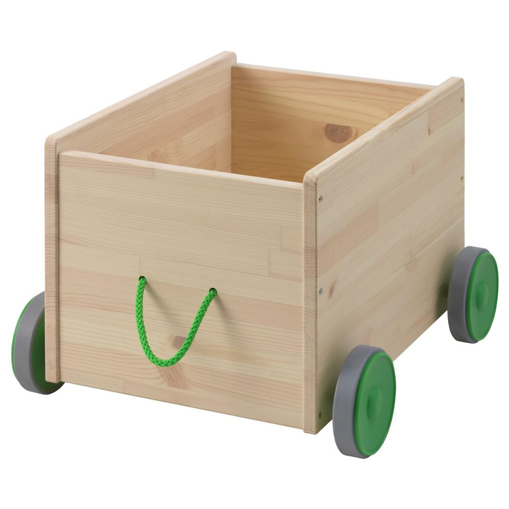 IKEA Flisat Toy Storage With Wheels Keep Thing In One Place