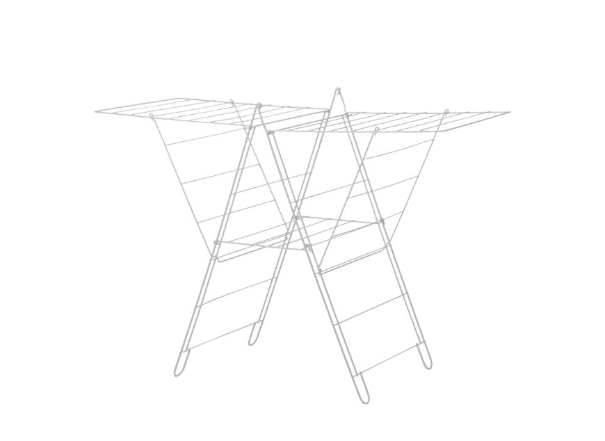 Ikea Frost Drying Rack In Outdoor White