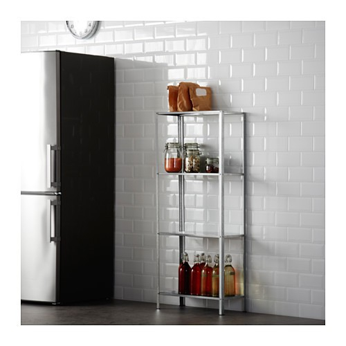 Enjoyable Ikea Hyllis Shelving Unit In Outdoor Galvanised Download Free Architecture Designs Scobabritishbridgeorg