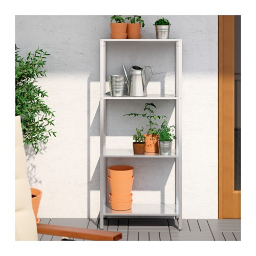 Marvelous Ikea Hyllis Shelving Unit In Outdoor Galvanised Download Free Architecture Designs Scobabritishbridgeorg