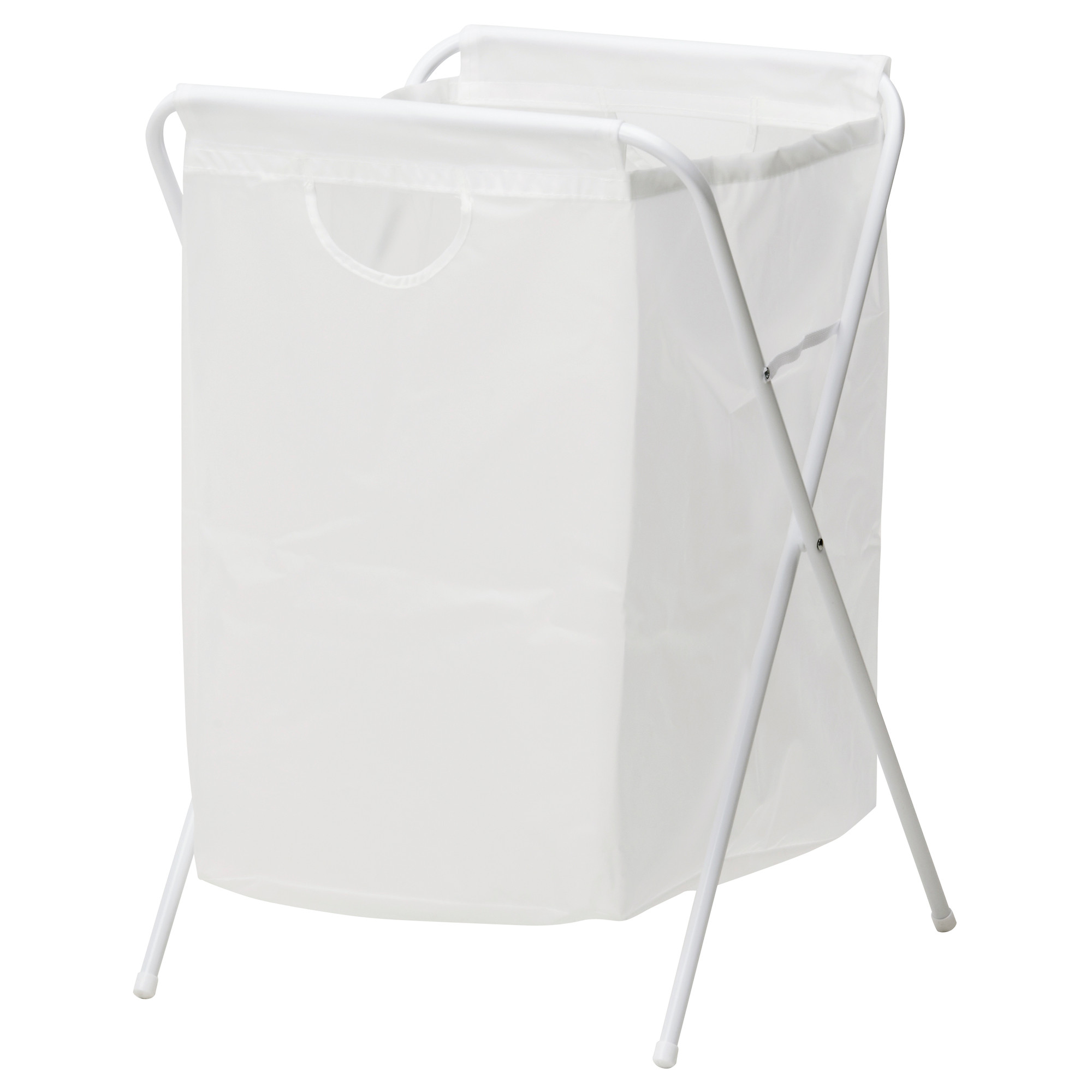 Ikea Jall Laundry Bag With Stand White