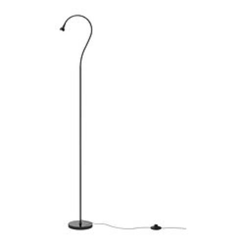 IKEA LED Floor/ Read Lamp, Black