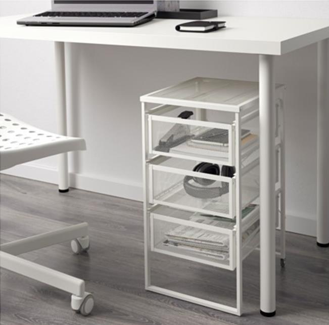 Ikea Lennart Drawer Unit White End 2 1 2018 12 15 Pm