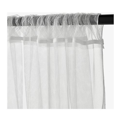 IKEA LILL Net Curtains 1 Pair White Colour