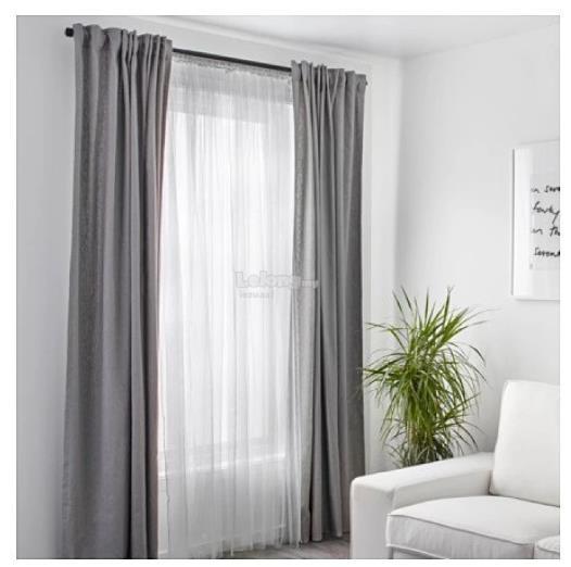 IKEA Net Curtains White 2 PCS