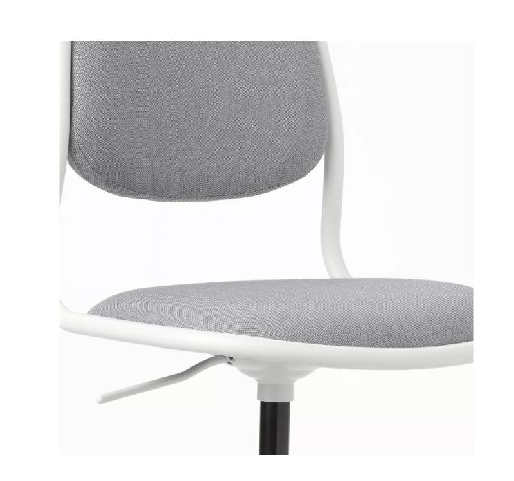 Ikea Orfjall Children S Desk Chair White Vissle Light Grey
