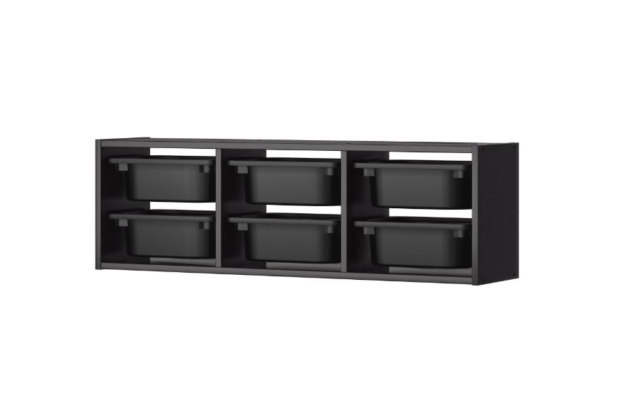 IKEA TROFAST Wall Storage Black. u2039 u203a  sc 1 st  Lelong.my & IKEA TROFAST Wall Storage Black (end 11/20/2020 12:27 AM)