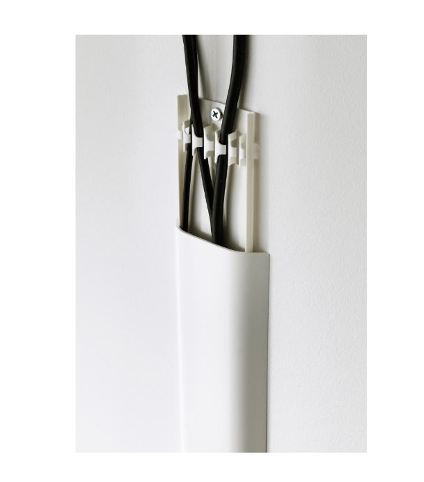 IKEA UPPLEVA Cable Cover Strip White (end 12/2/2020 8:00 PM)