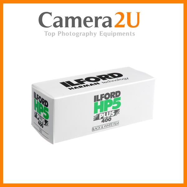 ILFORD HP5 PLUS ISO 400 120 ROLL FILM 1 PACK