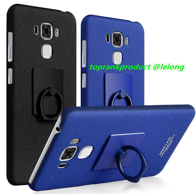 imak Asus ZenFone 3 Max ZC553KL Matte Case Cover Casing + Ring Holder