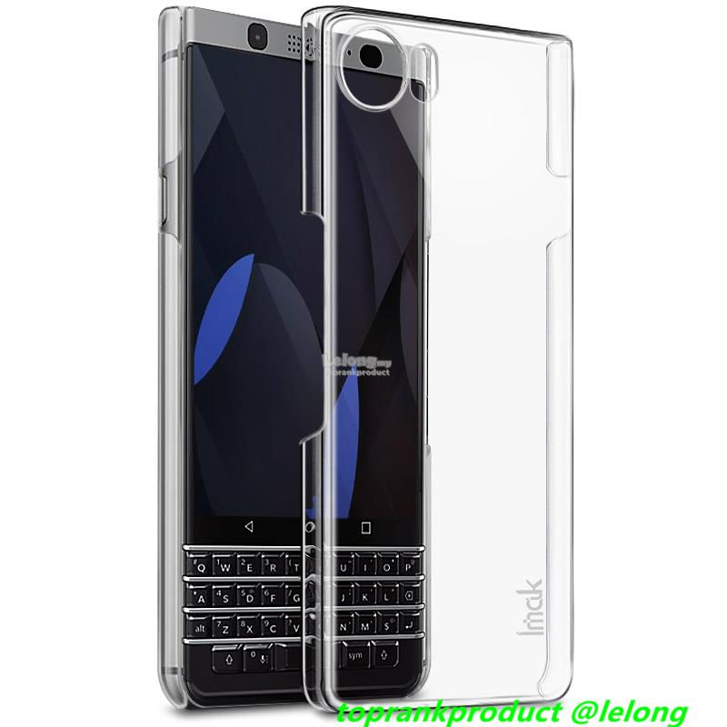 Imak BlackBerry KeyOne Transparent Crystal Hard Case Cover Casing