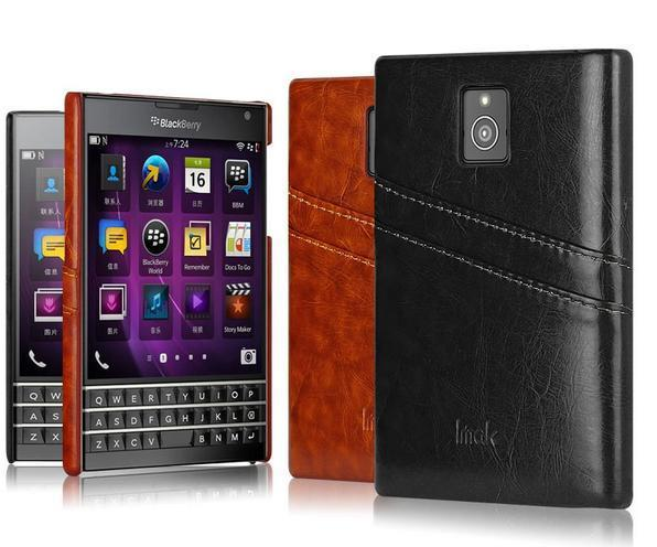 Imak Blackberry Passport Q30 Card Slot Back Case Cover Casing + Gift