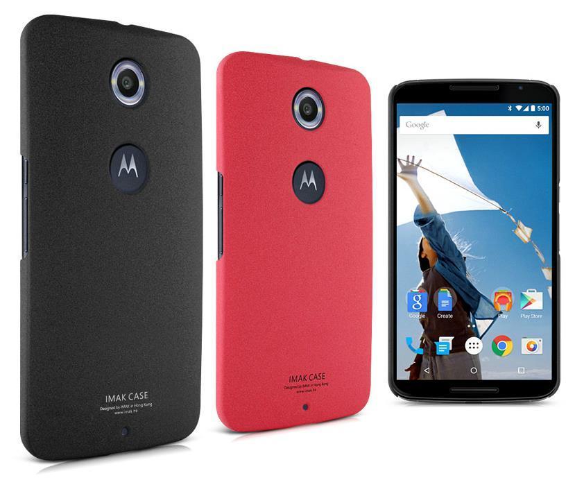 san francisco e1eea cbde8 Imak Google Motorola Moto Nexus 6 Matte Back Case Cover + Free SP