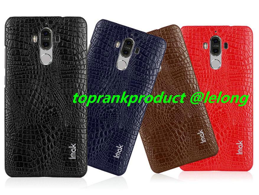 Imak Huawei Mate 9 / Pro PU Leather Armor Back Case Cover Casing