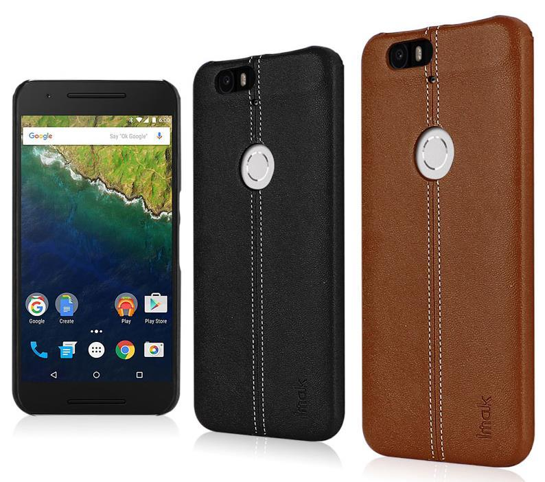 sale retailer eedeb f8e92 Imak Huawei Nexus 6P Leather Back Case Cover Casing + Free Gifts