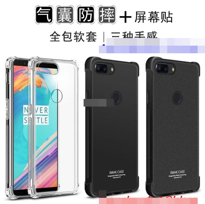 huge selection of 165ca 8cb64 Imak OnePlus 5T 1+5T ShakeProof Clear Matte Back Case Cover Casing