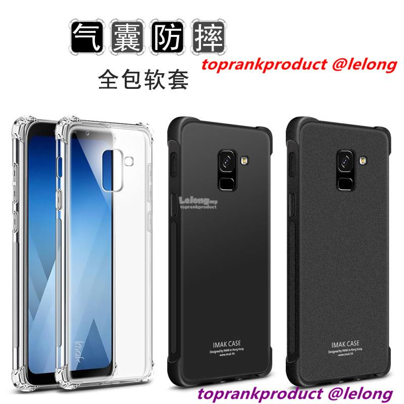 the best attitude 2d4ce 5cbf8 Imak Samsung Galaxy A8 A8+ Plus 2018 ShakeProof Back Case Cover Casing