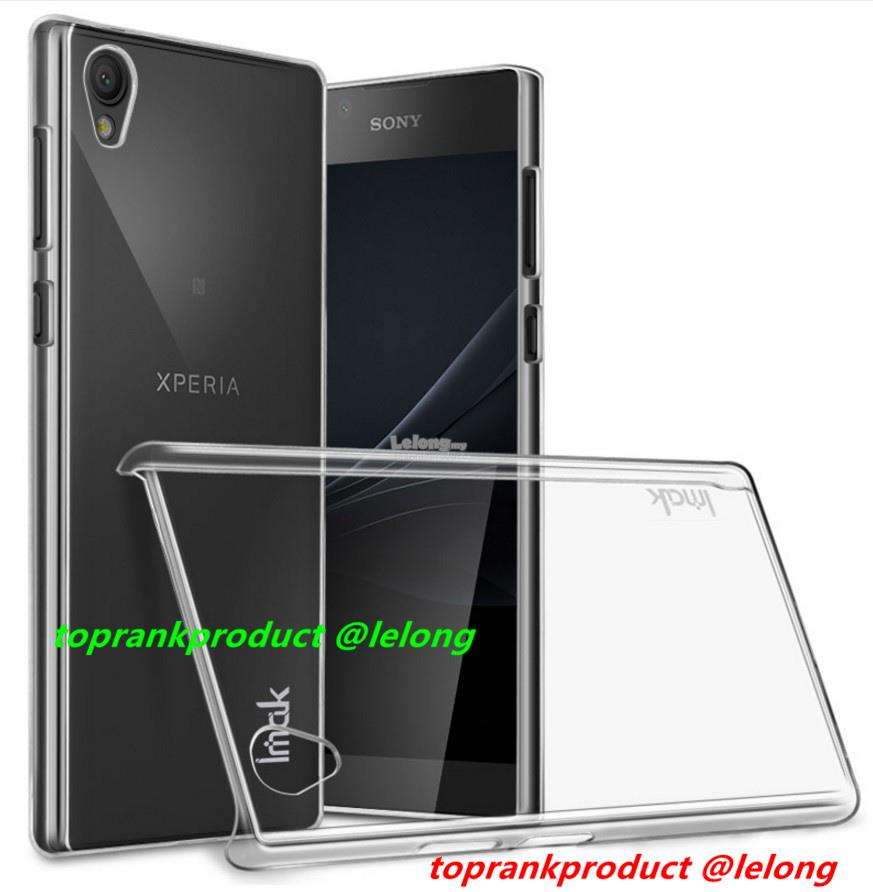 Imak Sony Xperia L1 Transparent Crystal Hard Back Case Cover Casing