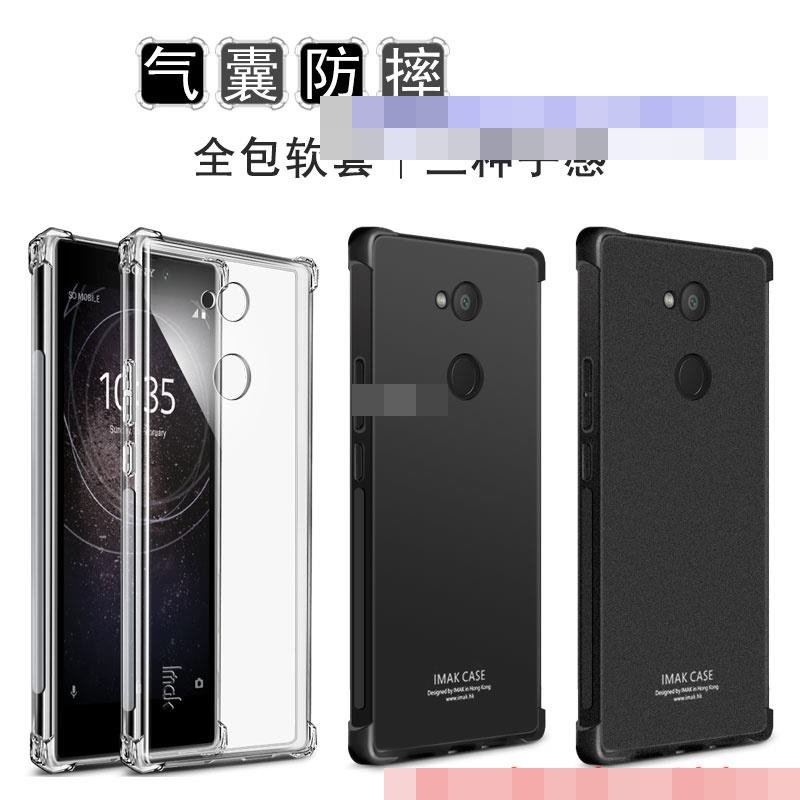 Imak Sony Xperia L2 ShakeProof Clear Matte Back TPU Case Cover Casing