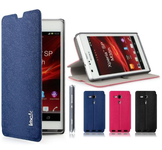 best value 2ef2e 96706 Imak Sony Xperia SP M35H Flip Case Cover + Free Screen Protector?