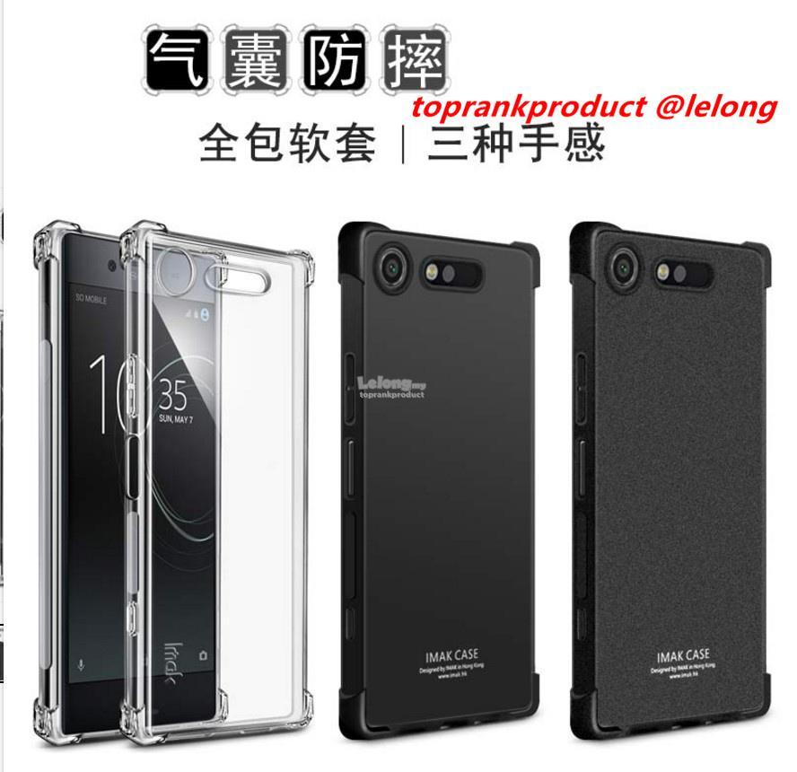 size 40 5e9b1 03fc3 Imak Sony Xperia XZ1 Compact Soft TPU Matte Silicone Case Cover Casing