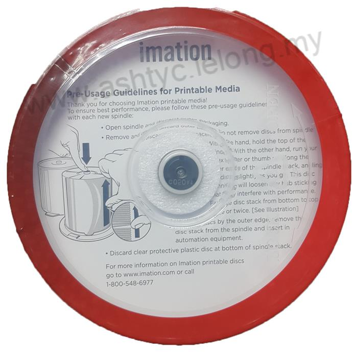 IMATION CD-R PRINTABLE 52X / 700MB / 80MIN 50 SPINDLE PACK