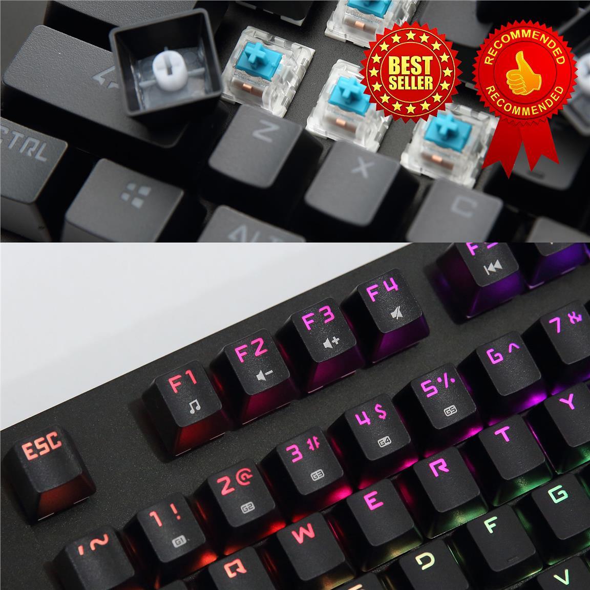 Keyboard Gaming Imperion Centipada Full Size Rgb Spec Dan Daftar Warrior 10 Kg C10r