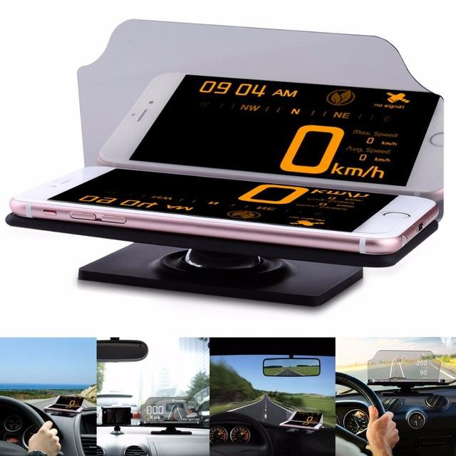 (Import) EHEAR Universal Portable Car Navigation Head Up Display HUD