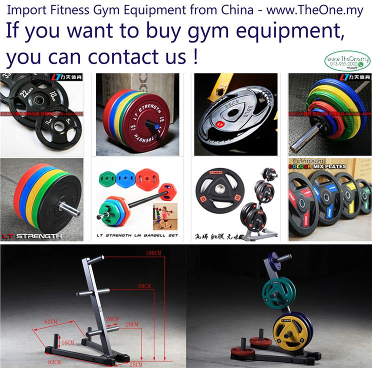 Import Fitness Equipment from China - www.TheOne.my