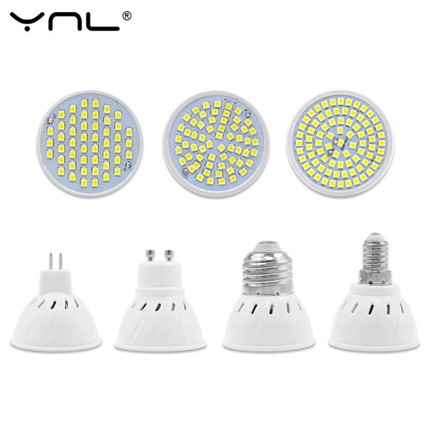 (Import) YNL LED Lamp 220V Bulb Spotlight SMD 2835 Spot light
