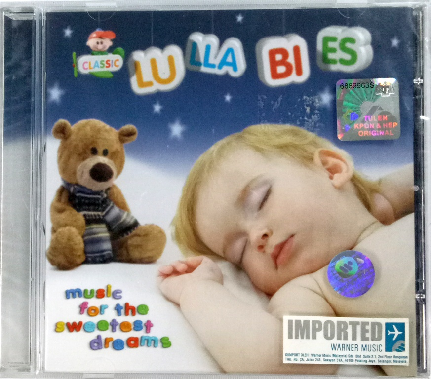 IMPORTED CD Classic Lullabies Music For The Sweetest Dreams
