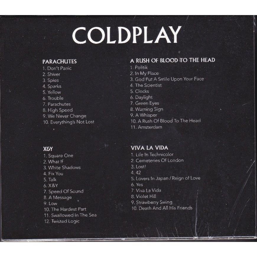 IMPORTED CD COLDPLAY Parachutes X & Y Viva La Vida A Rush of Blood To