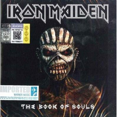 IMPORTED CD IRON MAIDEN The Book of Souls