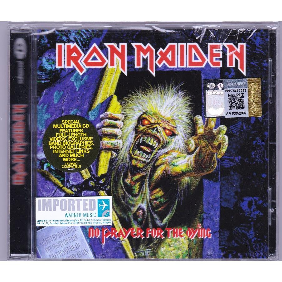 IMPORTED CD IRON MAIDEN No Prayer For The Dying